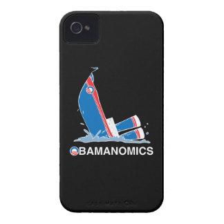 OBAMANOMICS SINKING iPhone 4 Case-Mate CASES
