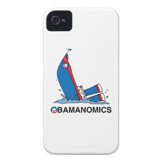 OBAMANOMICS SINKING iPhone 4 Case-Mate CASE