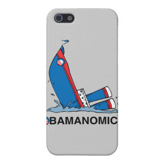 OBAMANOMICS SINKING CASES FOR iPhone 5