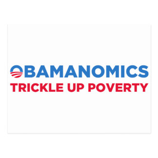 Obamanomics Tarjetas Postales
