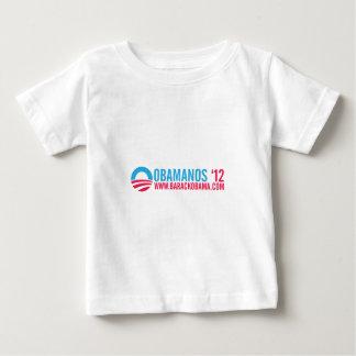 OBAMANOS-12 T SHIRT