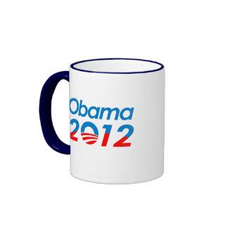 OBAMANOS (2) RINGER COFFEE MUG