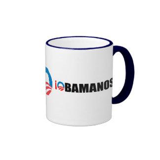 OBAMANOS RINGER COFFEE MUG