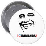 OBAMANOS PINS
