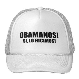 OBAMANOS - SI LO HICIMOS GORRAS