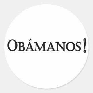 Obamanos sticker
