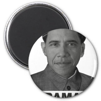 Obamao Collection 2 Inch Round Magnet