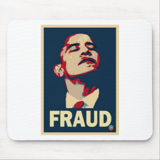 Obama's a Fraud Mouse Pad