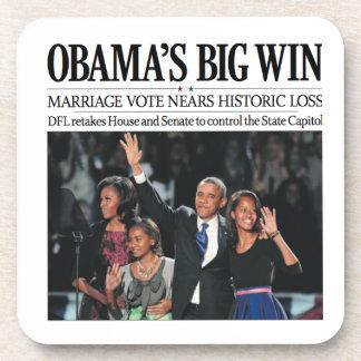 Obama's Big Win: Obama 2012 Coaster