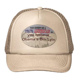 obamas bin lyin trucker hat