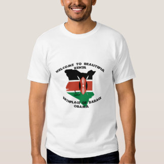 Obama's Birthplace Tee Shirt