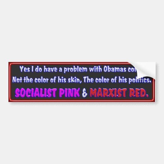 Obama's Color Bumper Sticker