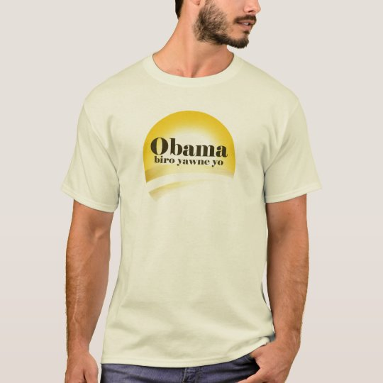 """""""Obama's Coming. Clear the way."""" T-Shirt"""