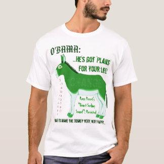 O'BAMA's Democratic Mascot needs tending! T-Shirt