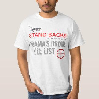 Obama's Drone Kill List T-Shirt