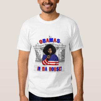 Obamas en camiseta de la casa de DA Playeras