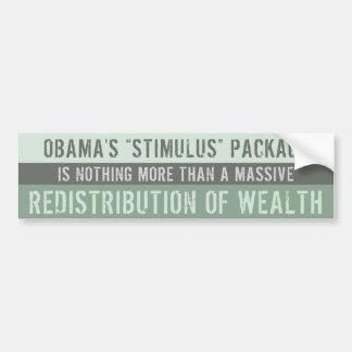 Obama's Failed Stimulus Bumper Sticker