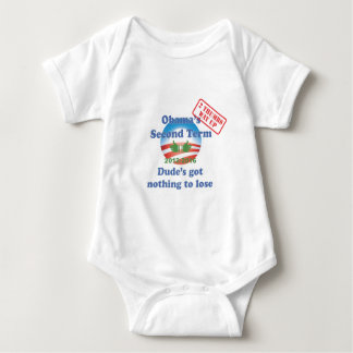 Obama's Got Nothing To Lose! Baby Bodysuit