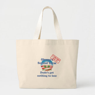 Obama's Got Nothing To Lose! Tote Bags