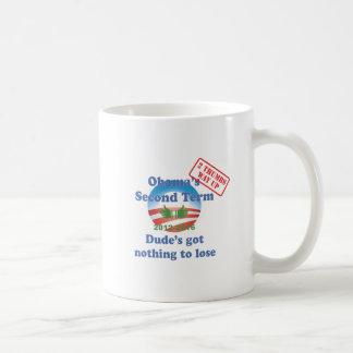 Obama's Got Nothing To Lose! Coffee Mug