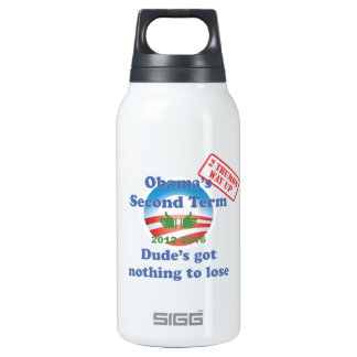 Obama's Got Nothing To Lose! SIGG Thermo 0.3L Insulated Bottle