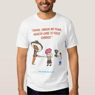 Obama's Healthcare Funding Plan Tee Shirt