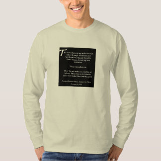 Obama's Inaugural Address Social Security T-Shirt