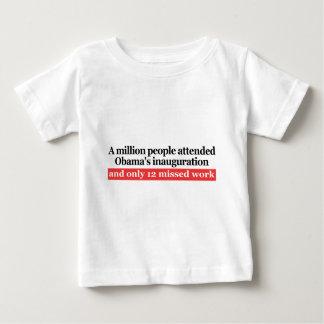Obama's Inauguration Baby T-Shirt