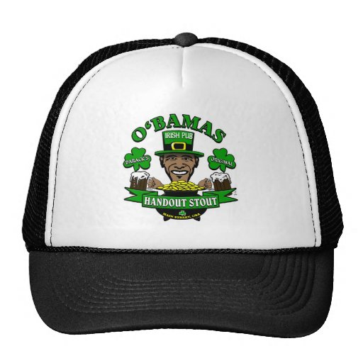 Obama's Irish Pub 4 Your Next Social Party! Trucker Hat
