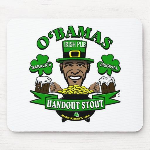 Obama's Irish Pub 4 Your Next Social Party! Mouse Pad