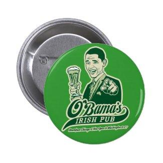 Obama's Irish Pub Button