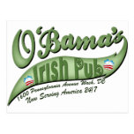 O'bama's Irish Pub Post Card