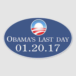Obama's Last Day 2017 Sticker