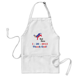 Obama's Last Day Adult Apron