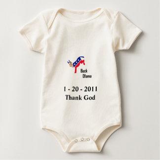 Obama's Last Day Baby Bodysuit