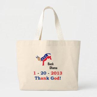 Obama's Last Day Canvas Bag