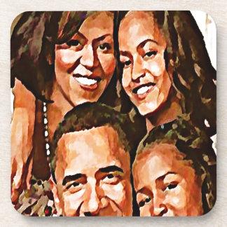 Obama's Love_ Drink Coaster