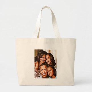 Obama's Love_ Large Tote Bag