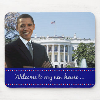 Obama's New House - Mousepad