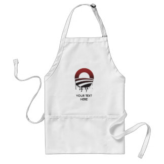 OBAMA'S OIL SPILL ADULT APRON