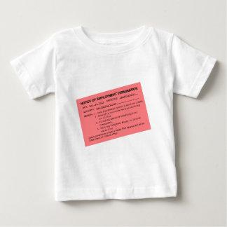Obama's Pink Slip Baby T-Shirt
