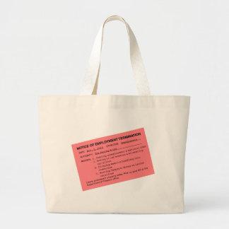 Obama's Pink Slip Bags