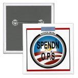 Obama's Rock-Inspired Logo Pinback Buttons