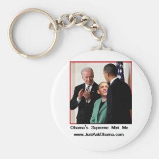 Obama's Supreme Mini Me Keychain