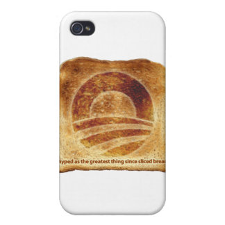 Obama's Toast iPhone 4/4S Cases