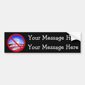 Obama's Totalitarian Plan Car Bumper Sticker