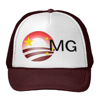 Obama's Totalitarian Plan - Chinese Socialism Trucker Hat