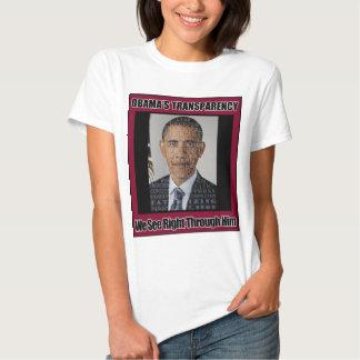 Obama's Transparency T-shirt