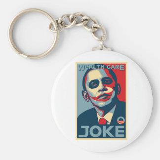 Obama's Wealth Care Plan Keychain