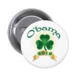 ObamaSHAMROCK Pin